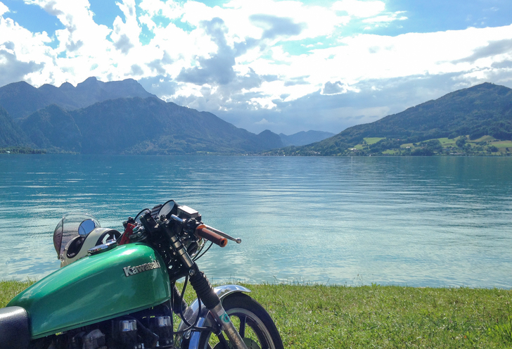 Ride the lakes