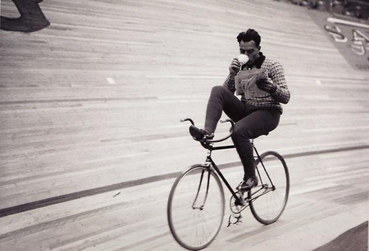 The caffeinated third wave bike challenge
