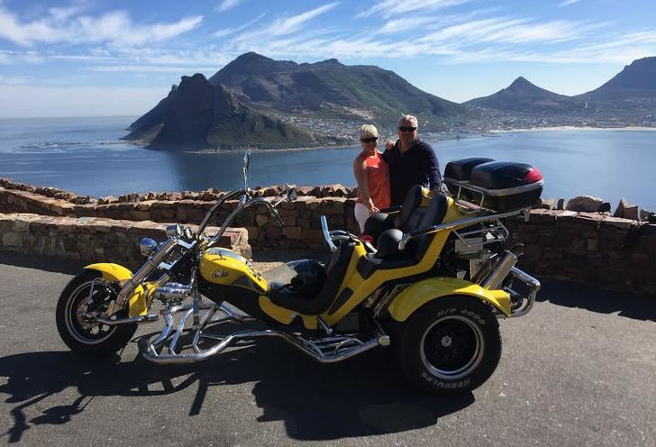 Full day cape point & peninsula trike tour.