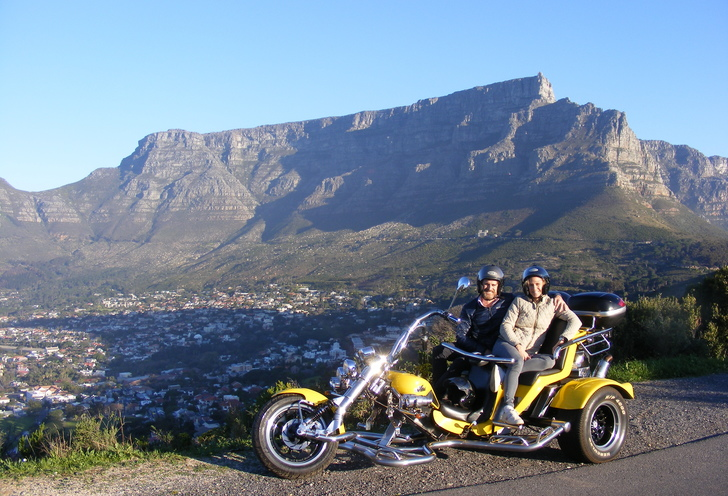 Romantic signal hill sunset trike tour.